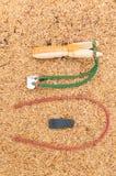 Houten katapultkatapult  Stock Foto