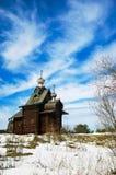 Houten kerk Stock Foto's