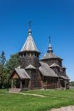 Houten kerk Royalty-vrije Stock Foto