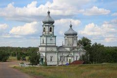 Houten kerk royalty-vrije stock afbeeldingen