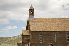 Houten kerk in Lichaam, CA Royalty-vrije Stock Fotografie