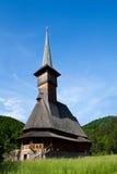 Houten Kerk in Maramures Stock Foto's