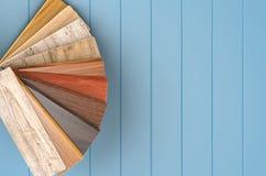 Houten kleurengids Stock Afbeeldingen