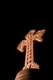 Houten kruis Stock Foto