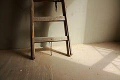 Houten ladder stock foto's