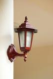 houten lamp Royalty-vrije Stock Afbeelding