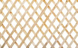 Houten latwerk Stock Foto's