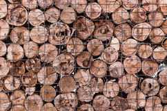 Houten logboekachtergrond stock afbeeldingen