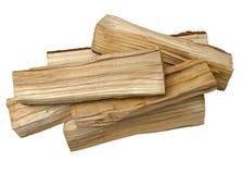 Houten logboeken als brandhout royalty-vrije stock foto's