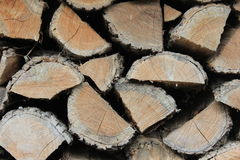 Houten logboekentextuur Royalty-vrije Stock Fotografie