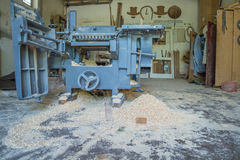 Houten machine Royalty-vrije Stock Fotografie