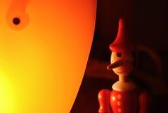 Houten Marionet Stock Foto's