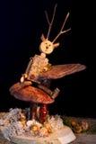 Houten marionet Stock Afbeelding