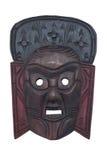 Houten masker Royalty-vrije Stock Afbeeldingen
