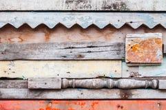 Houten materiële achtergrond voor oud Uitstekend behang voor achtergrond Stock Foto
