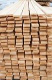 Houten materialen Royalty-vrije Stock Fotografie