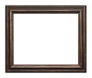 Houten met de hand gemaakt frame Stock Foto