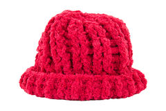 Houten met de hand gemaakte hoed Royalty-vrije Stock Foto