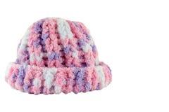 Houten met de hand gemaakte hoed Royalty-vrije Stock Afbeeldingen