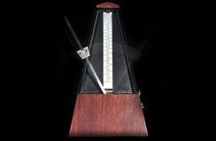 Houten metronoom Stock Foto