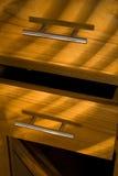 Houten meubilair stock afbeelding