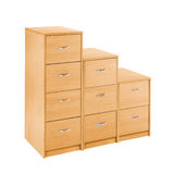 Houten meubilair voor badroom Royalty-vrije Stock Foto's
