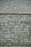 Houten muren en plafonds. Stock Foto