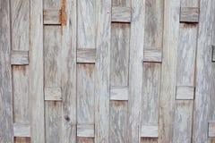Houten muren van oude Thaise huizen Stock Foto