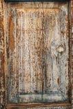 houten muur, oude verf Stock Afbeelding