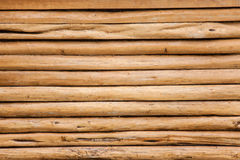 Houten muur van hout, Royalty-vrije Stock Foto's