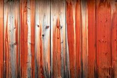 Houten muur van oranje raad met het beeld van de snuit van het dier stock foto