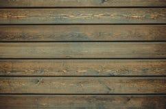 Houten muurachtergrond Stock Afbeeldingen