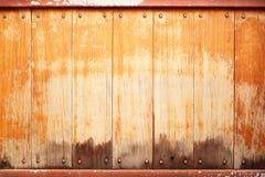 Houten muurachtergrond Royalty-vrije Stock Foto