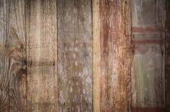 Houten muurtextuur Stock Afbeelding