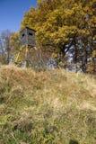 Houten observatie Stock Fotografie