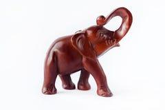Houten olifant Stock Afbeeldingen