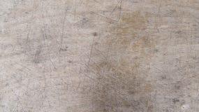 Houten oppervlakte met besnoeiingen Royalty-vrije Stock Afbeeldingen