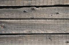 Houten oppervlakte, oude plank voor achtergrond Stock Foto