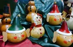 Houten ornamenten Stock Afbeeldingen
