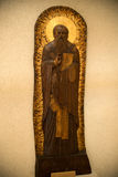 Houten orthodox pictogram Royalty-vrije Stock Afbeelding