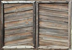 Houten oude achtergrond Het licht doorstond houten textuur Royalty-vrije Stock Foto's
