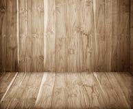 Houten oude bruine plank Royalty-vrije Stock Afbeeldingen
