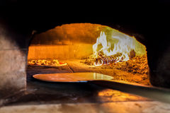 Houten oven stock foto