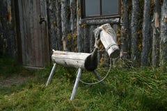 Houten Paard Stock Afbeelding