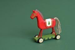 Houten paard stock foto's