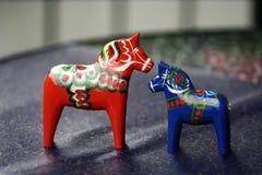 Houten paard Royalty-vrije Stock Foto's