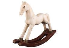 Houten paard Stock Afbeeldingen