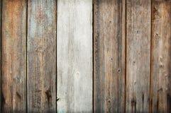 Houten Palissadeachtergrond Sluit omhoog van houten omheiningspanelen Stock Foto
