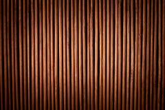 Houten panelen die als achtergrond worden gebruikt Stock Afbeelding