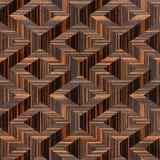 Houten parketdecoratie - naadloze achtergrond - Ebbehouten hout stock illustratie